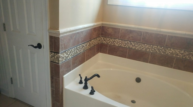 New Tub Tile