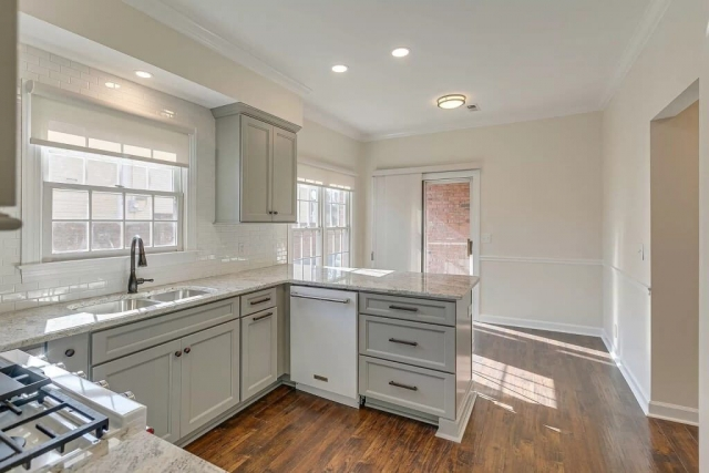 Flooring Lighting and Cabinets