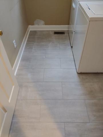 Laundry Room Floor