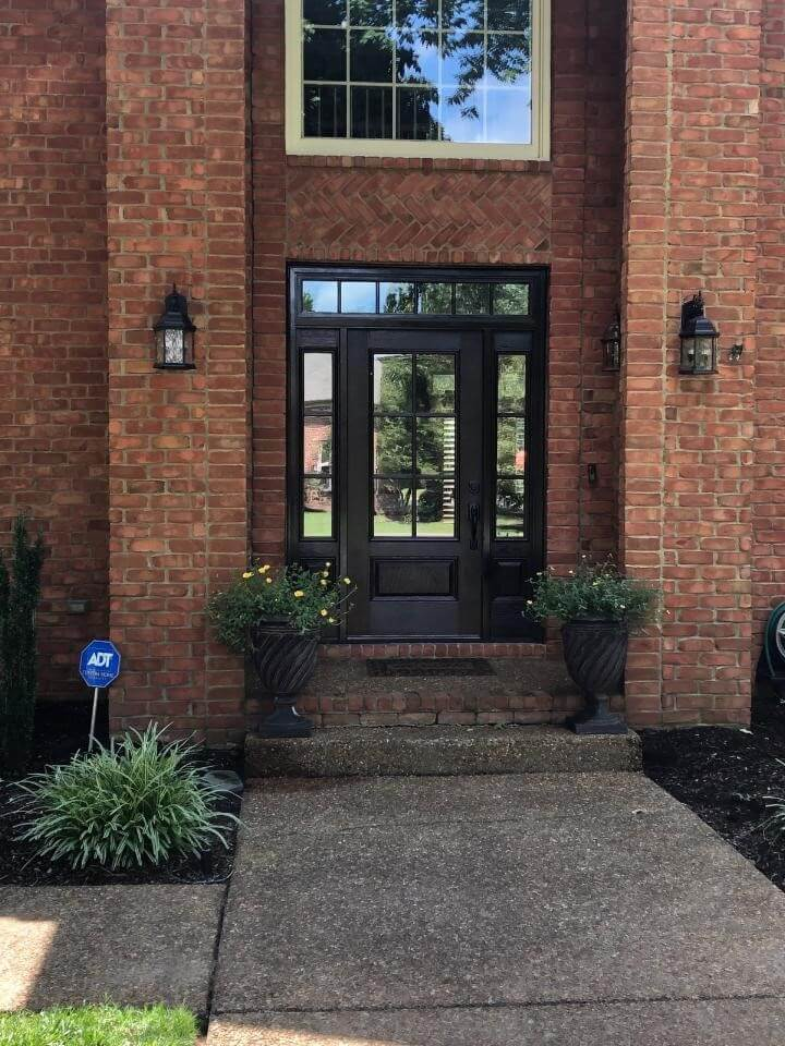 Front Door and Transom