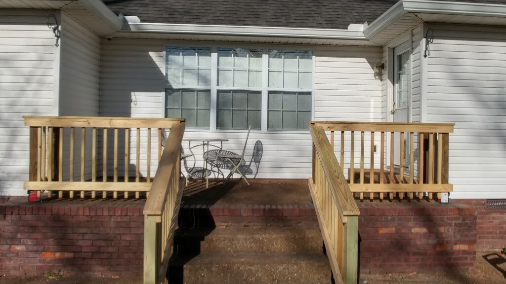 Add Railings to Existing Porch
